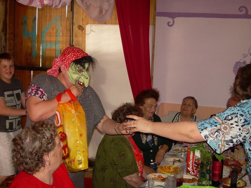 Костюмированные поздравление бабы яги